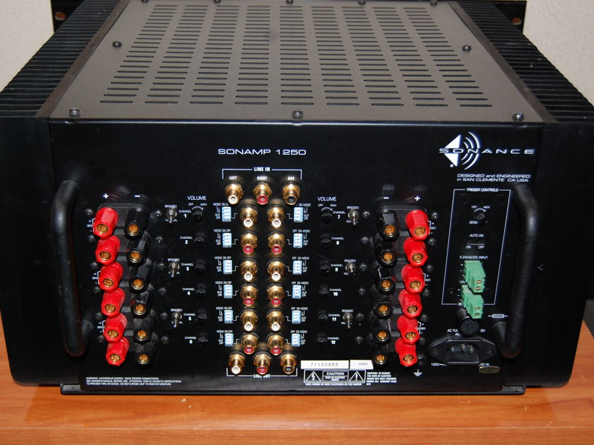 Sonance Sonamp 1250 12 Channel Power Amplifier