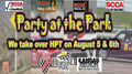 Party At The Park KCR/KSR/KVRG event at HPT