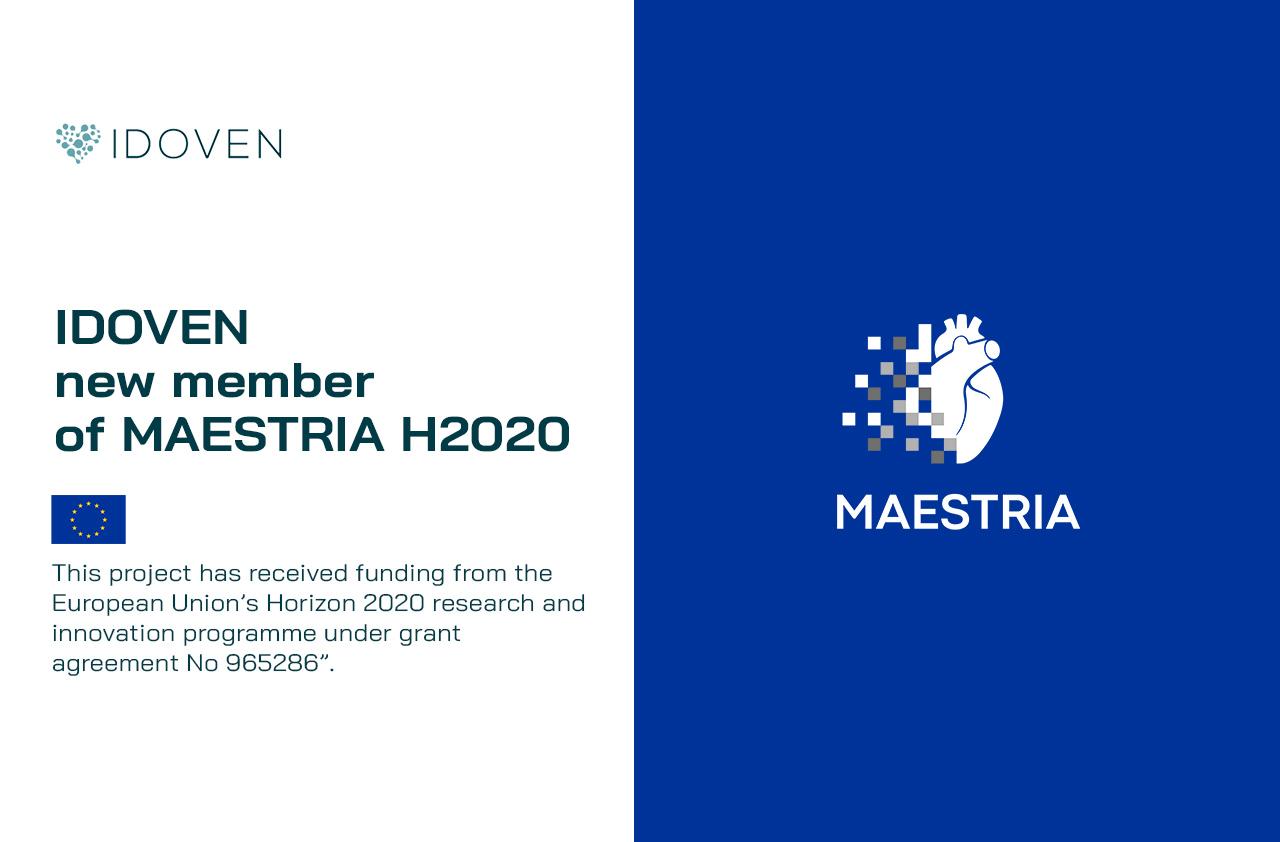 IDOVEN new member of the MAESTRIA H2020 consortium