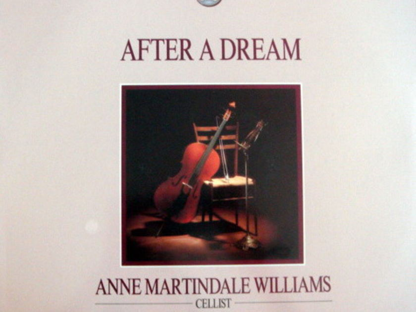 ★Sealed★ Word  Records / WILLIAMS-BISH, - After A Dream, Romantic Cello Music!