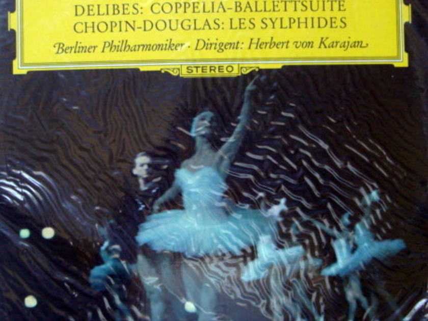 ★Sealed★ DG / KARAJAN, - Delibes Coppelia Ballet,  Chopin Les Sylphides!