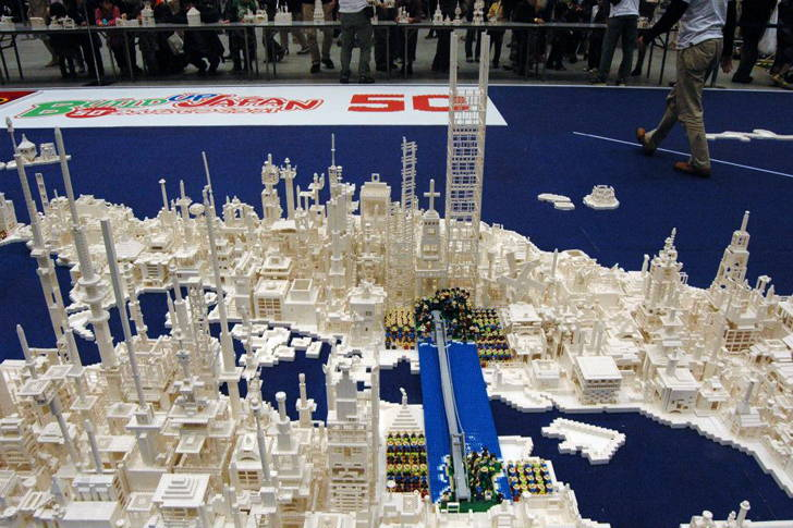 Scale model of Japan
