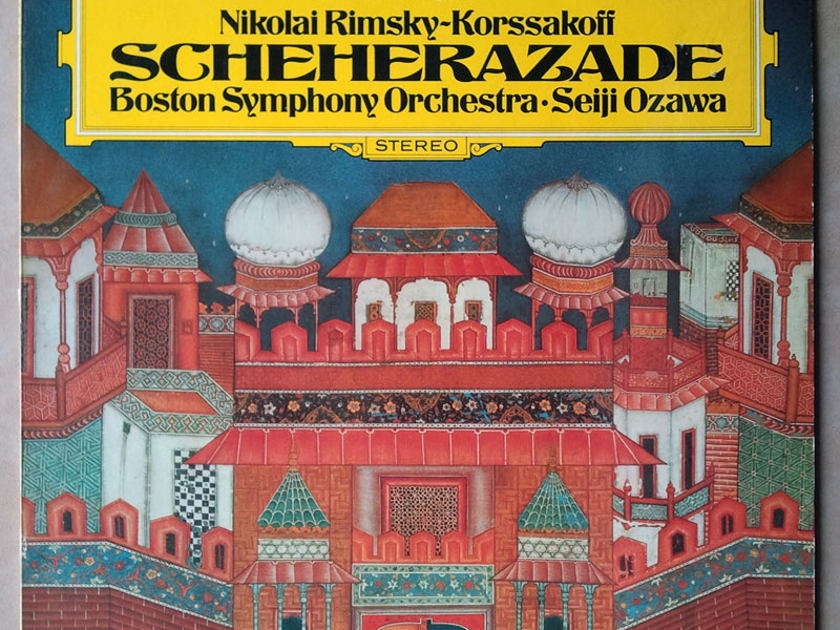 DG/Ozawa/Rimsky-Korsakov - Scheherazade / EX