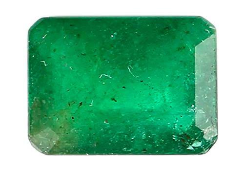 Poor quality emerald