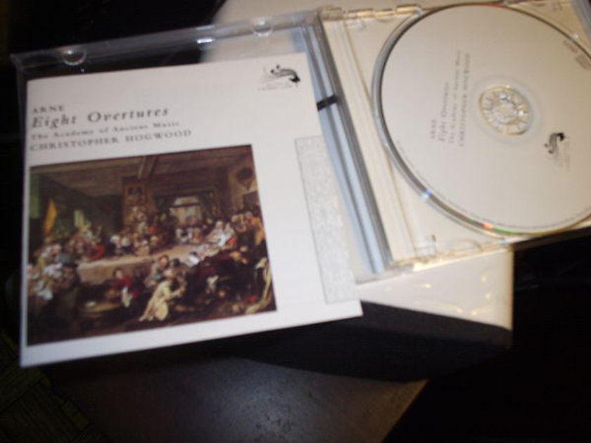 Arne - Eight Overtures christopher hogwood, cond.