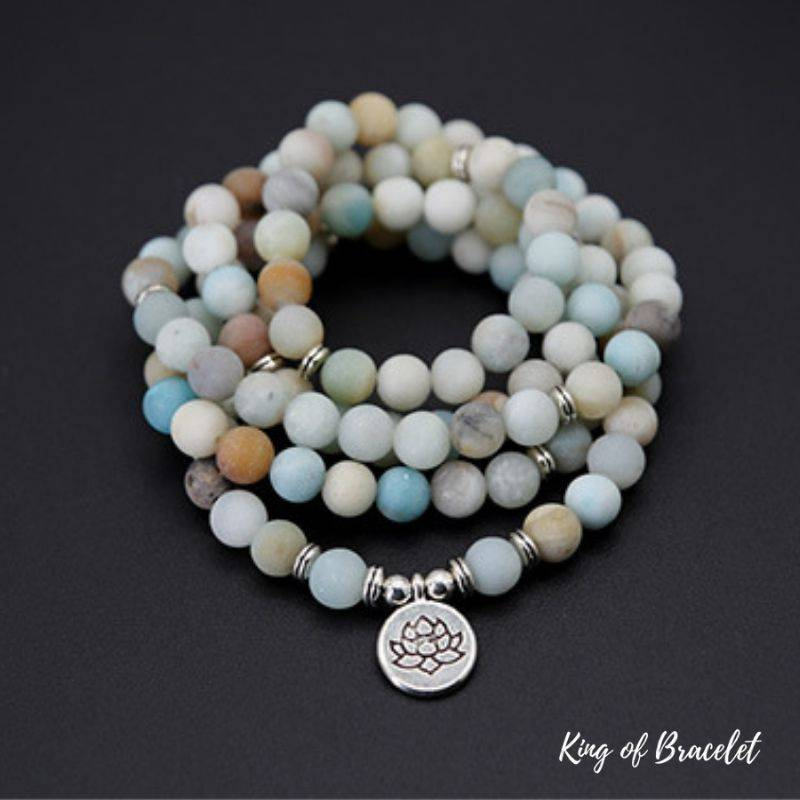Bracelet de Lithothérapie en Amazonite - King of Bracelet
