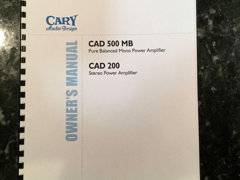 Cary Audio Design CAD-200
