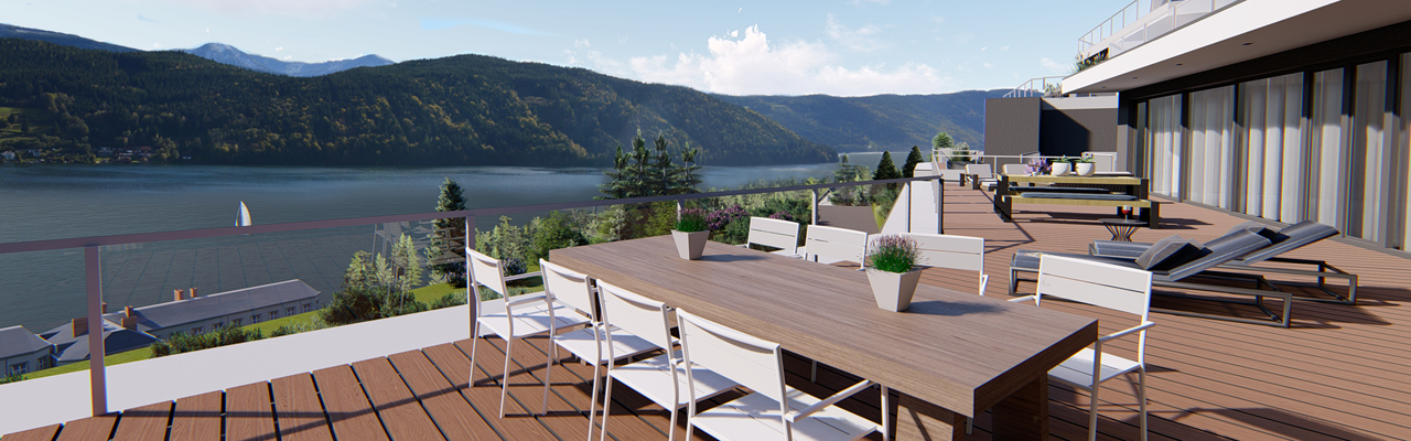 Velden am Wörthersee - New apartments with marvellous lake view