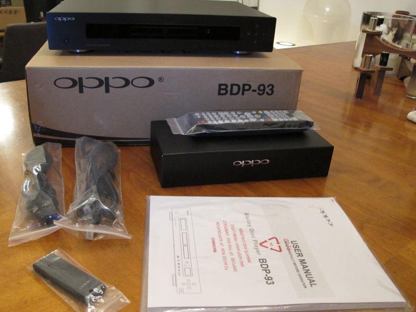 Oppo BDP-93 BluRay CD SACD Player - Mint