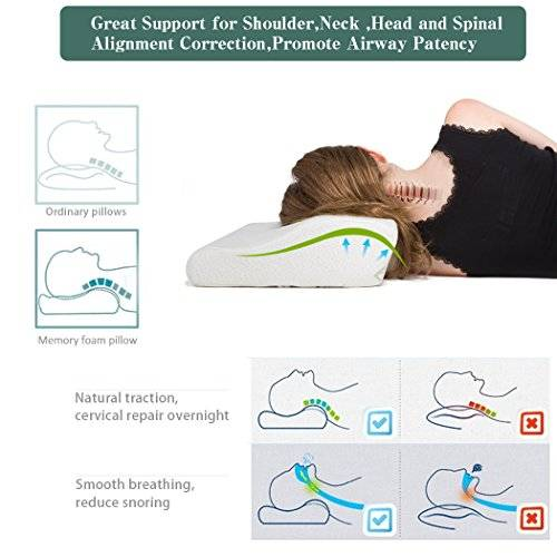 Cervical Pillow Benefits.best orthopedic pillows for neck pain.pillow for neck pain side sleeper.cpap memory foam pillow.what are the best memory foam pillow brands. best pillow for side sleepers with neck pain.