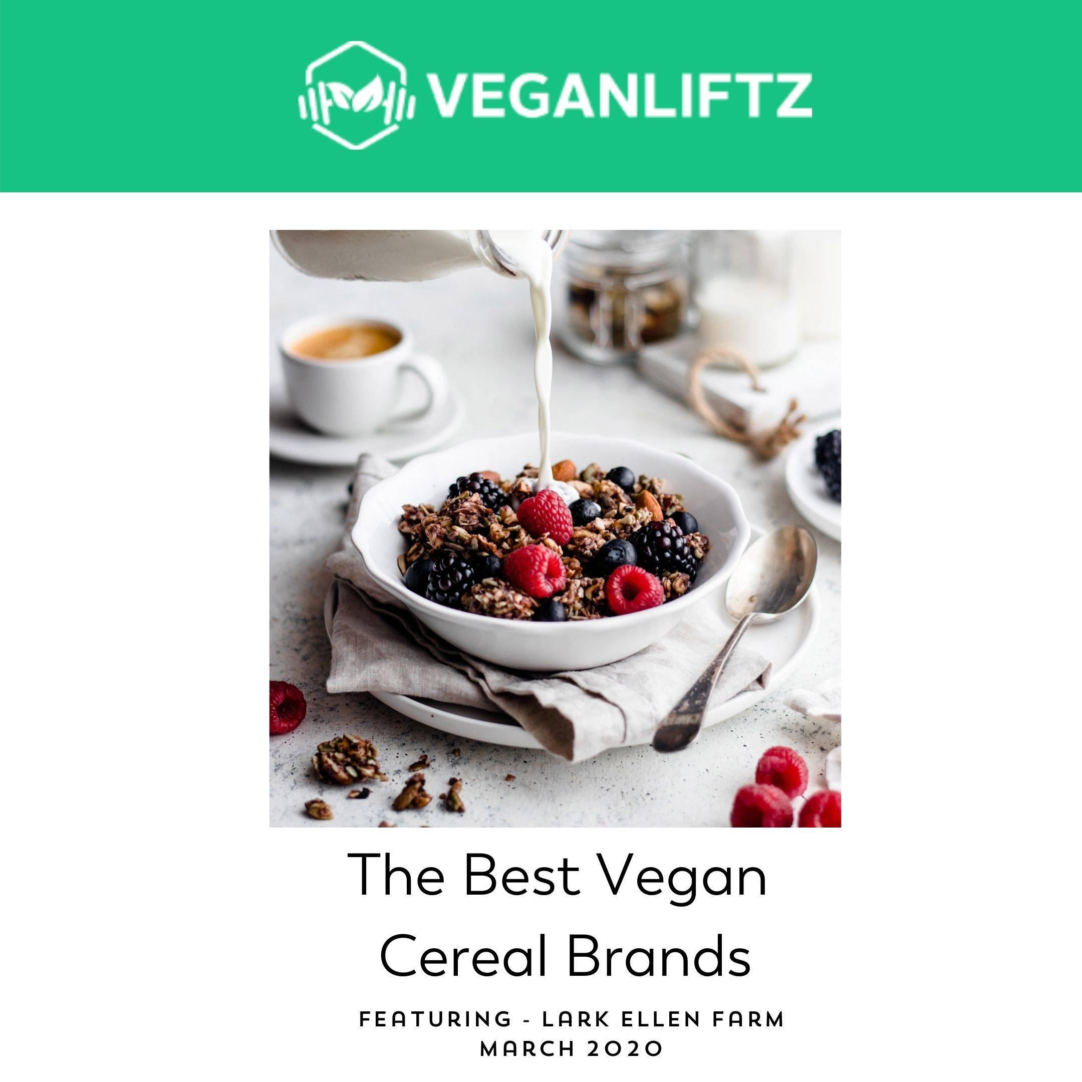 Veganliftz best vegan cereal brands