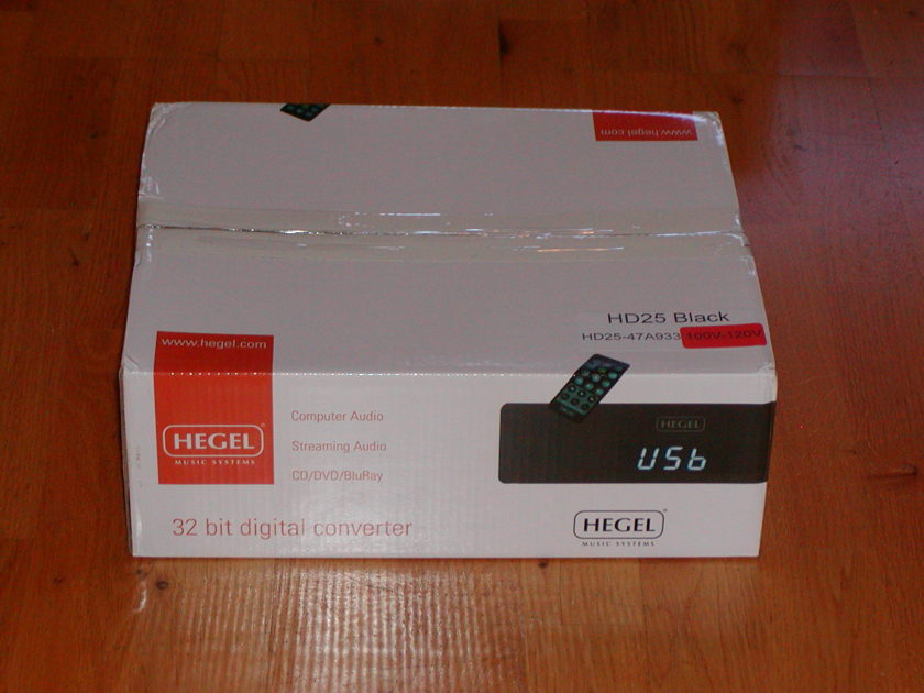 Hegel HD-25 Streamer