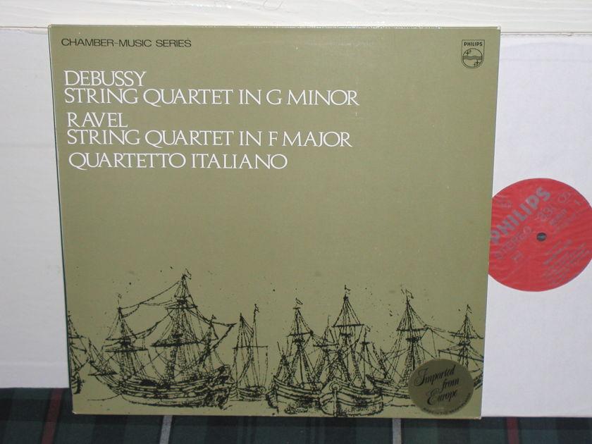 Quartetto Itialiano - Debussy/Ravel String Quartets Philips import pressing 835 LY