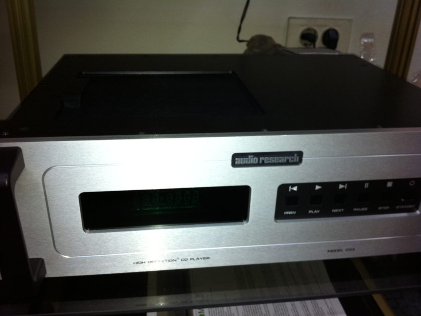 Audio Research  CD-3 mkII cd player