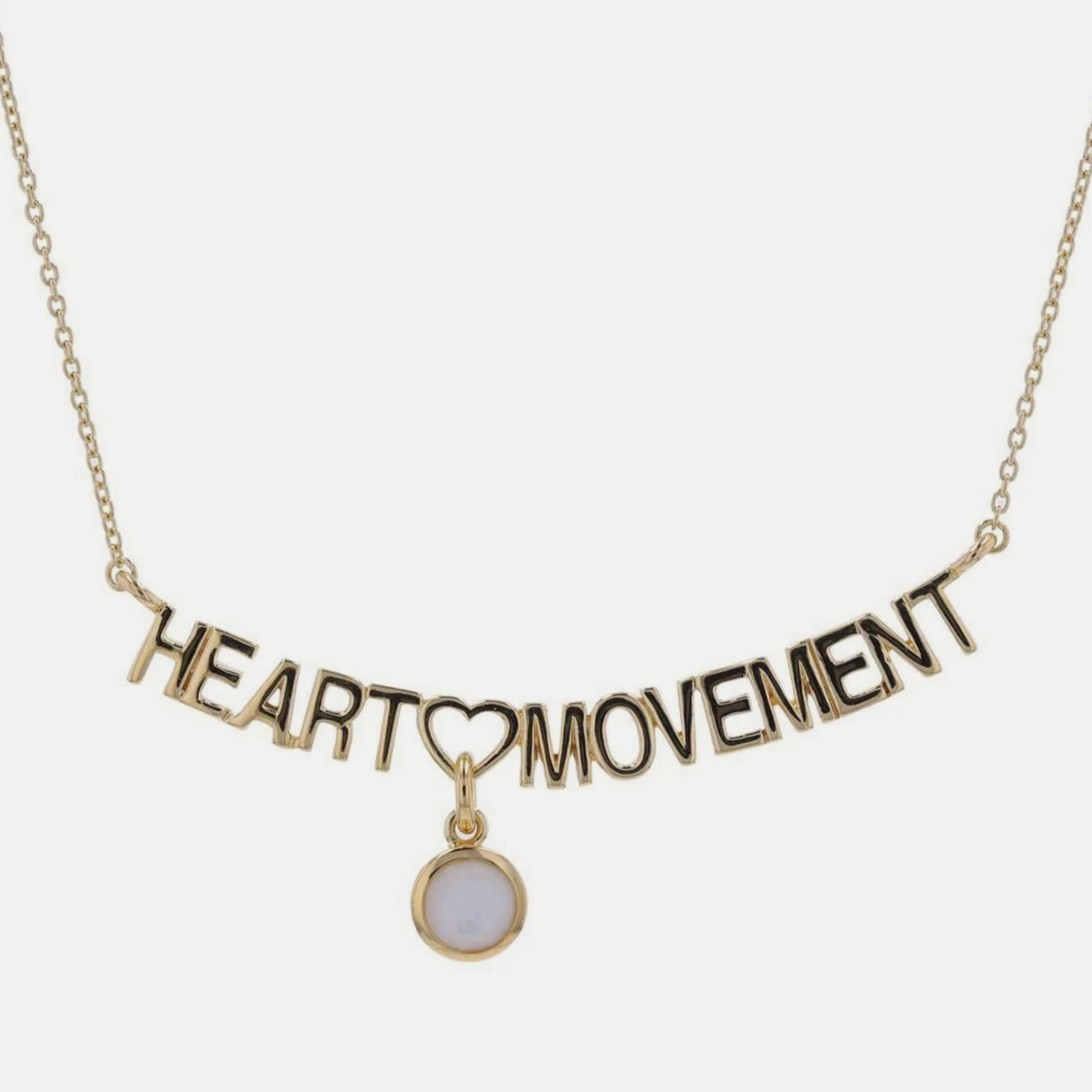 Heart Movement Necklace