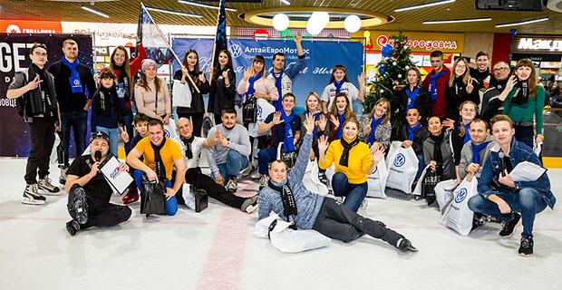 Зима с «Европой Плюс Барнаул» началась с «европейских» ледовых заездов - Новости радио OnAir.ru