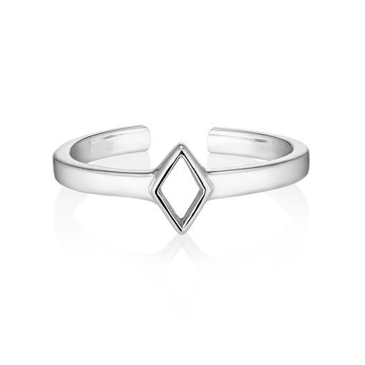 Миди-кольцо RHOMB без камня