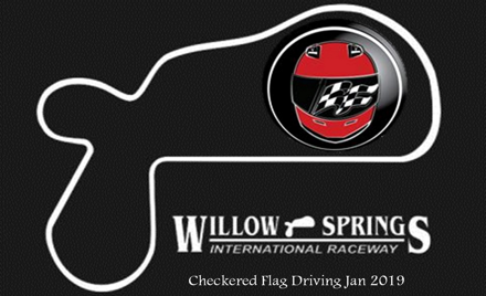 Checkered Flag Driving Big Willow Jan 2019