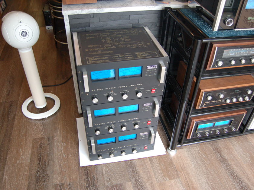 McIntosh MC 2500 McIntosh Powerhouse Amplifier