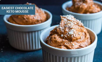 Easiest Chocolate Keto Mousse