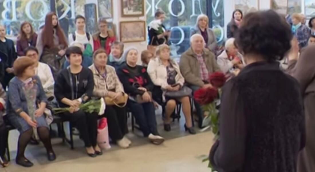 Выставка работ художницы Валентины Маркушиной