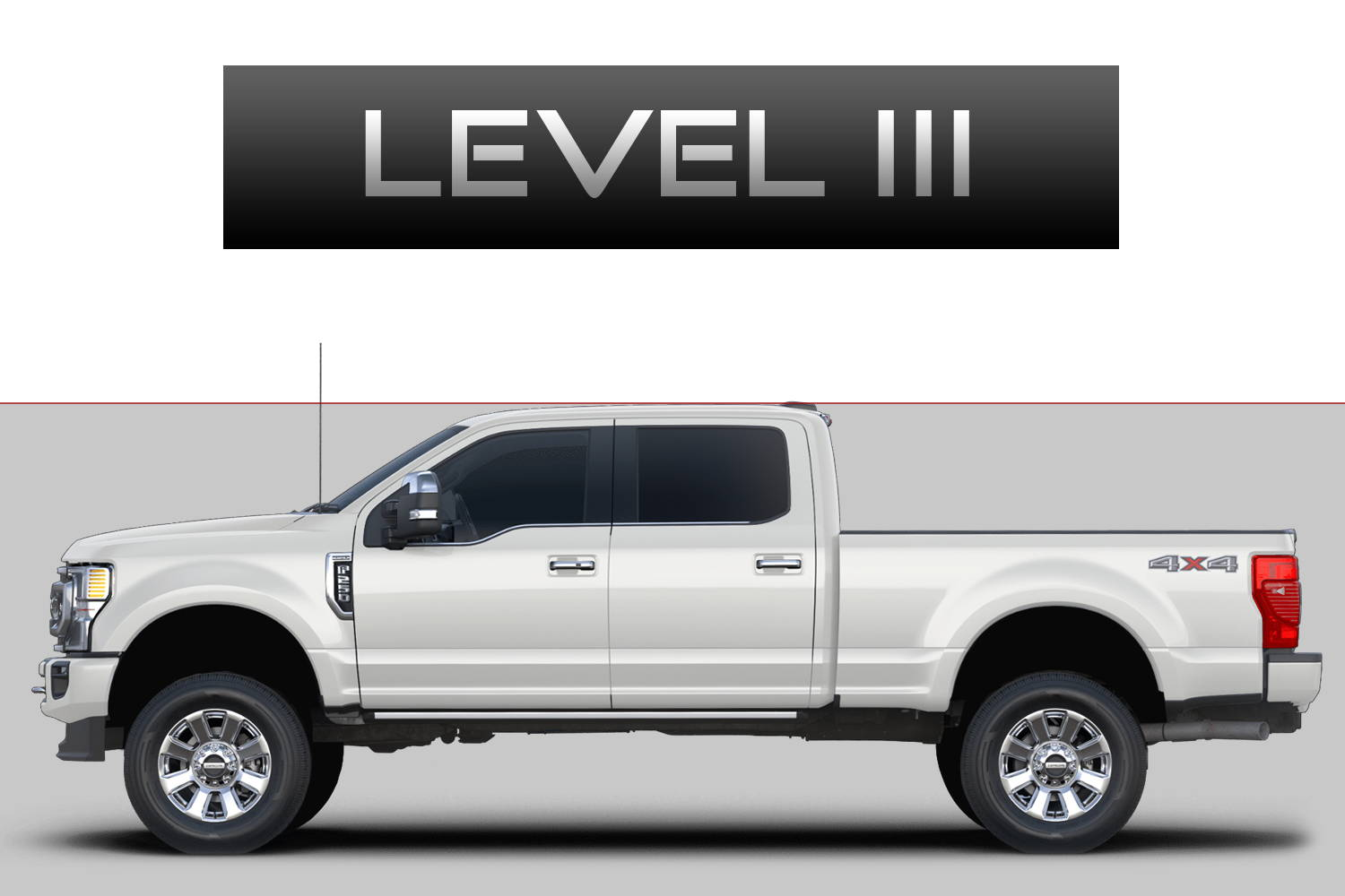 Ford F250 F350 Super Duty Off-Road Customizing Package Level 3 by 3C Trucks