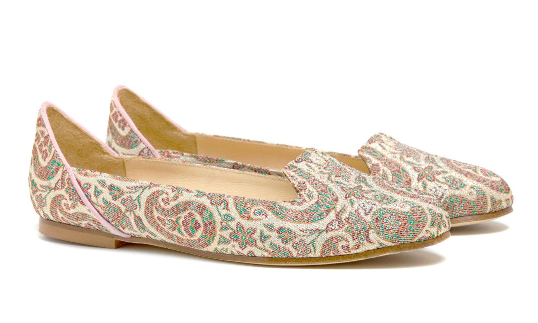 Bote A Mano Pink Ballet Flat Shoes