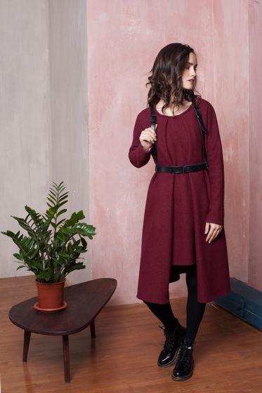 Самое теплое платье RED WINE
