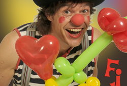 clown filous bunte luftballonwelt neu