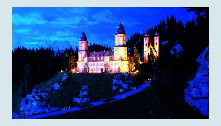 harz kloster nacht