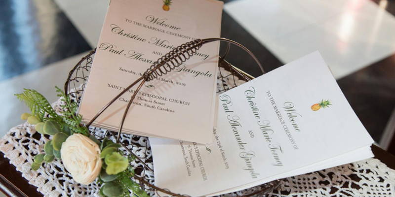 How to Design your own Wedding Programs