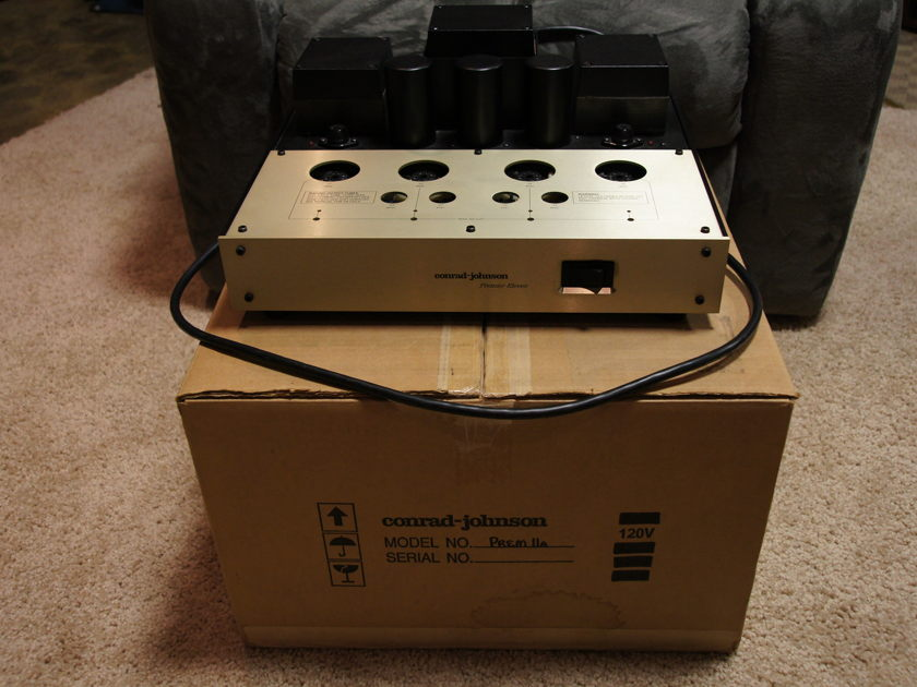Conrad Johnson Premier 11 A Power Amplifier Gently Preowned.