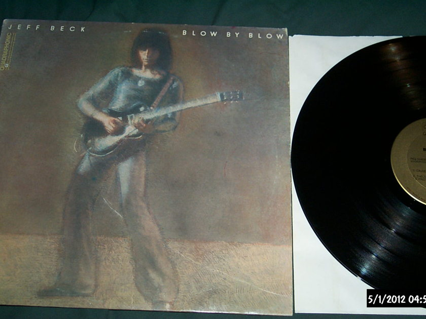 Jeff beck - Blow By Blow sq quadraphonic lp nm