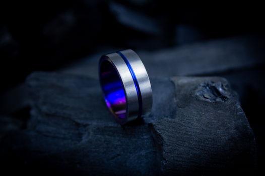 "Титановое кольцо ""Цикл"""