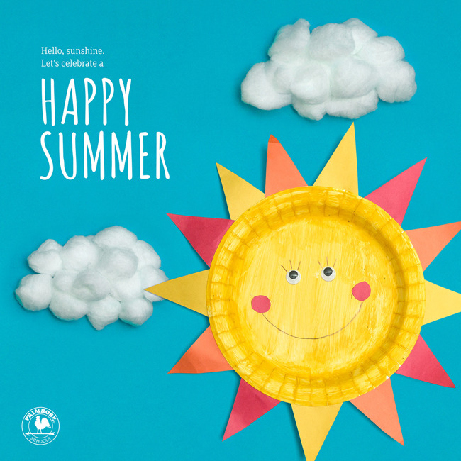 Happy Summer from all of us at Primrose School of Concordville!