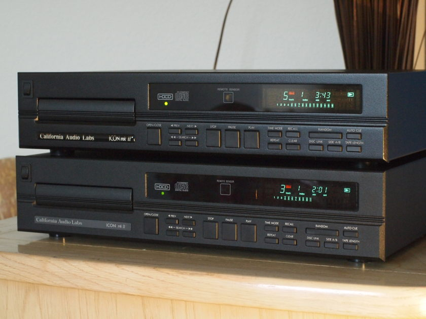 California Audio Labs ICON II   POWER BOSS UPGRADE