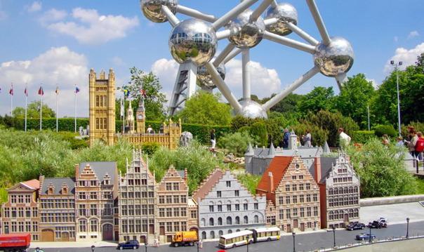 Брюссель. Мини Европа (выезд из Кельна)