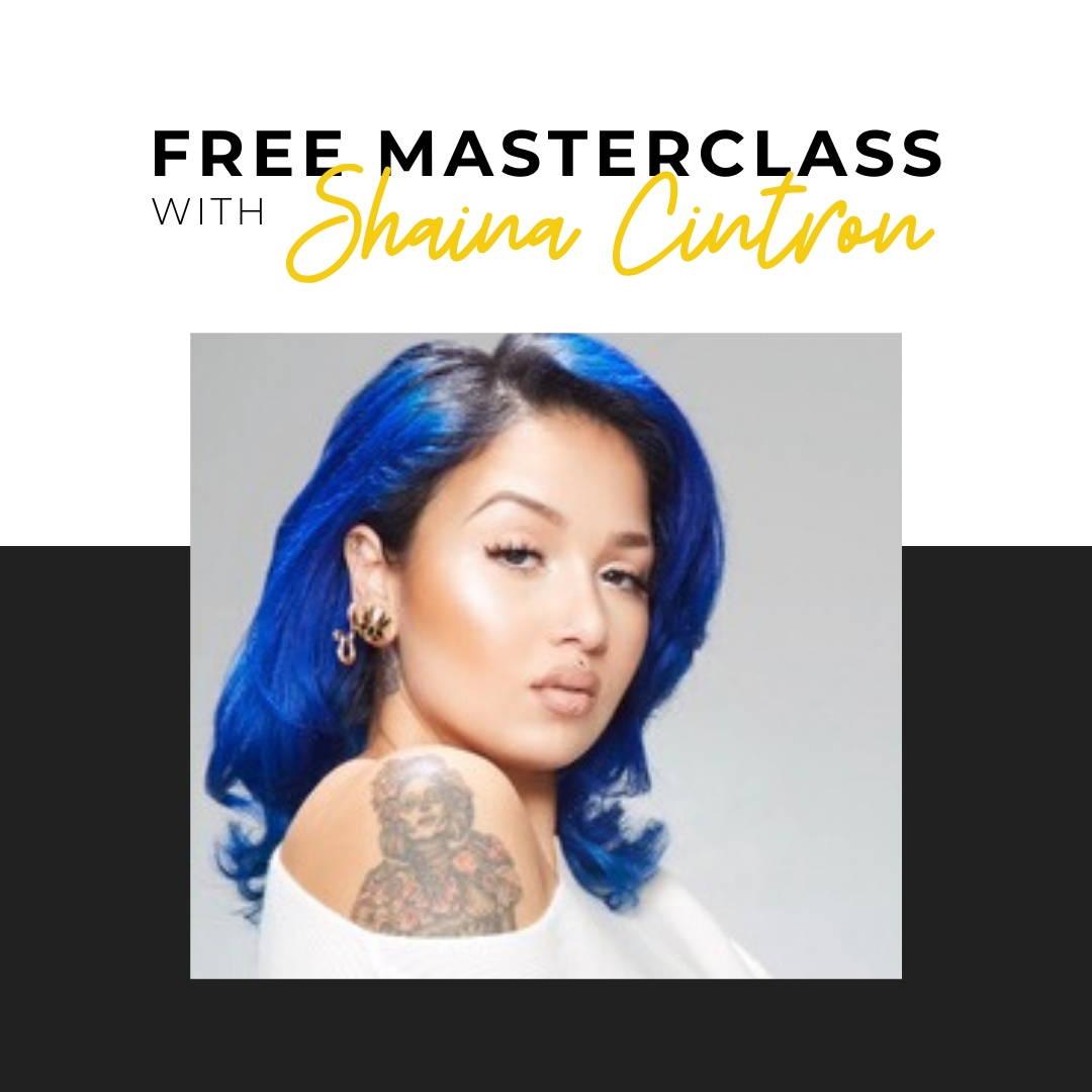 Free masterclass with pro makeup artist Shaina Cintron