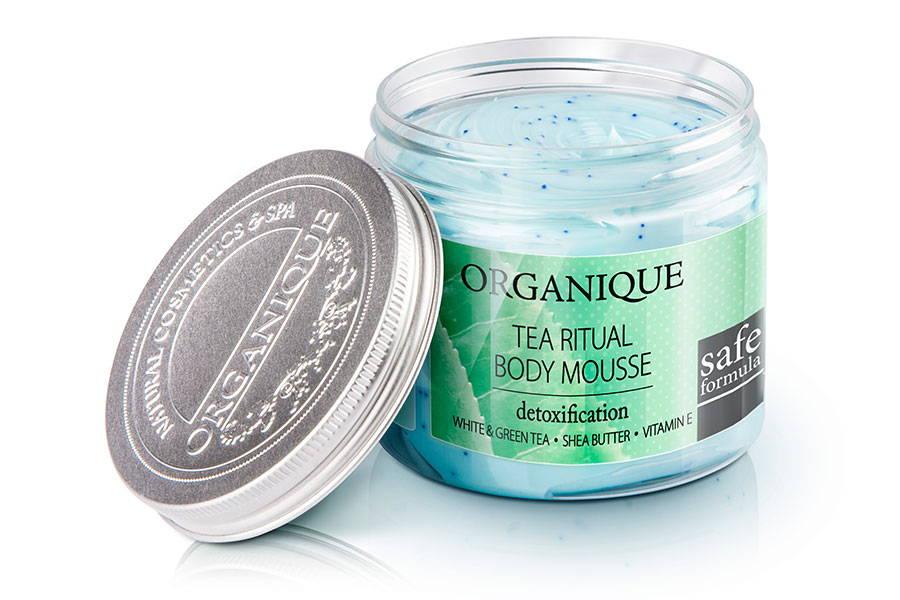 Detoxifying And Moisturising Tea Body Mousse