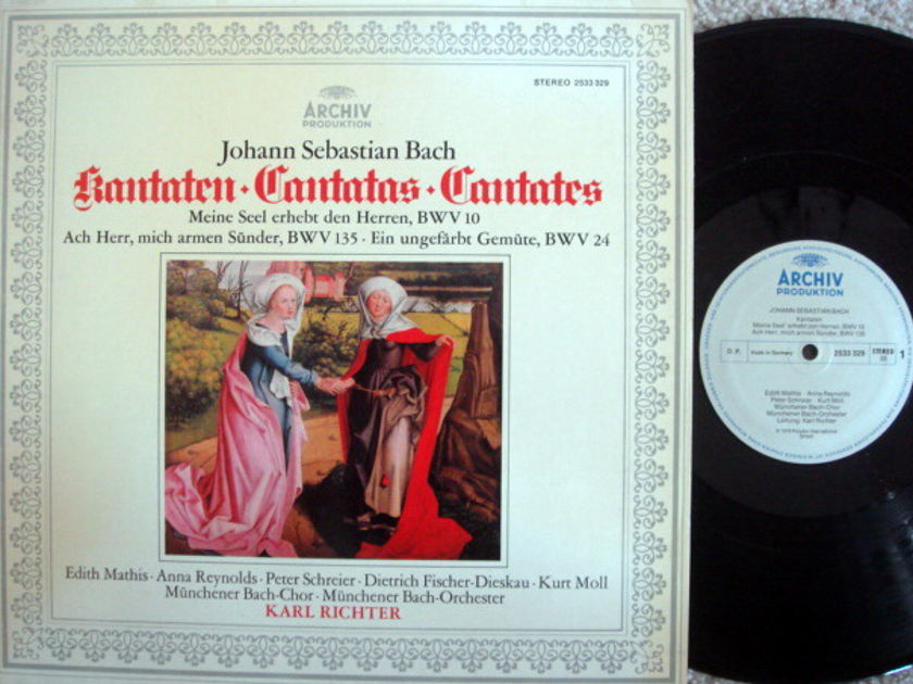 Archiv / RICHTER, - Bach Cantatas BWV.10, 135 & 24, NM!