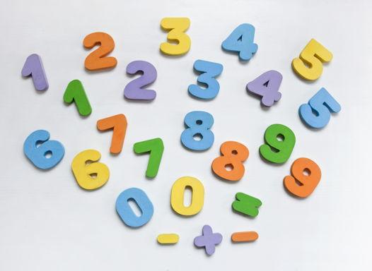 Магнитные цифры и знаки  (24 шт)