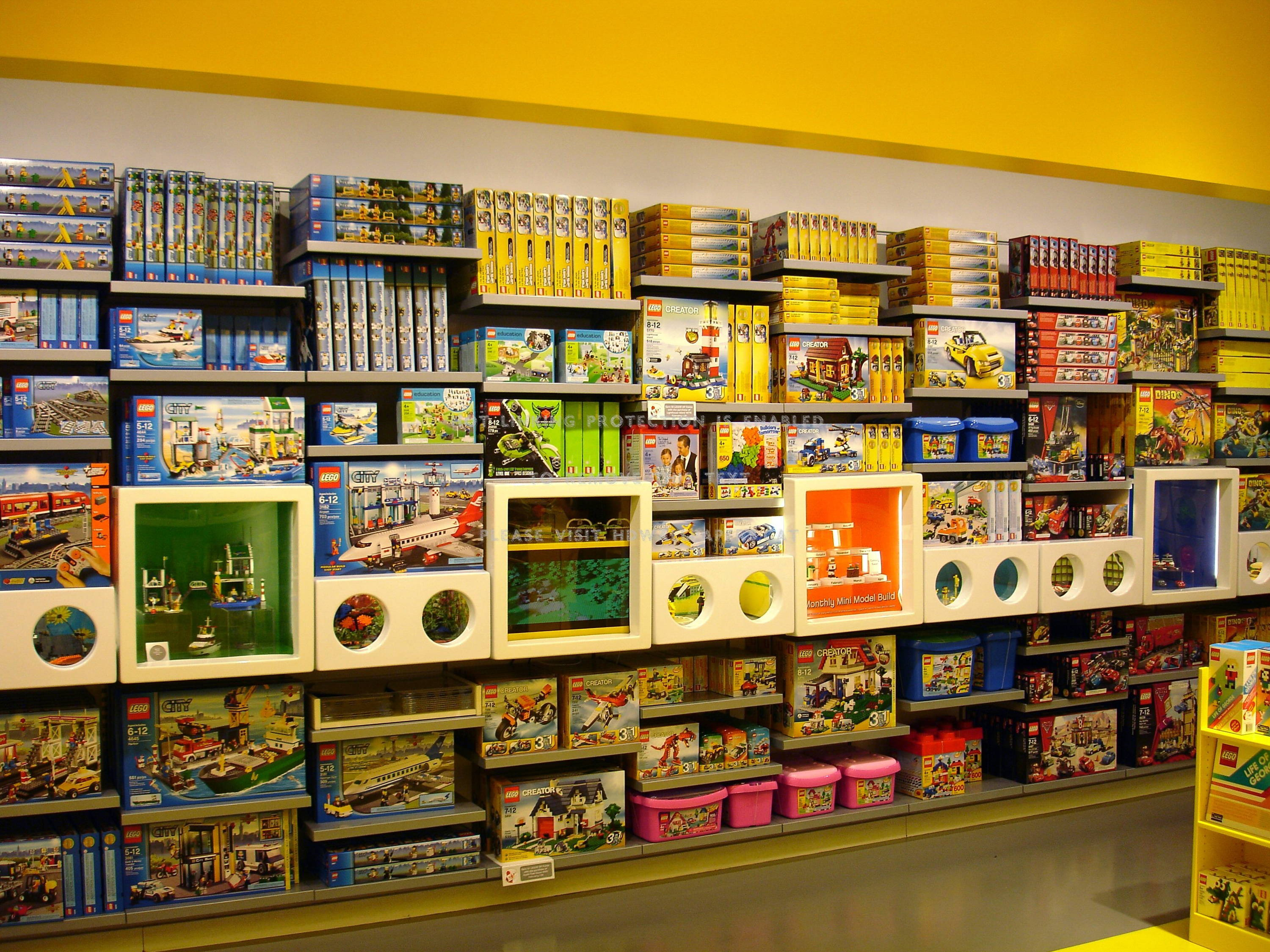 lego store section