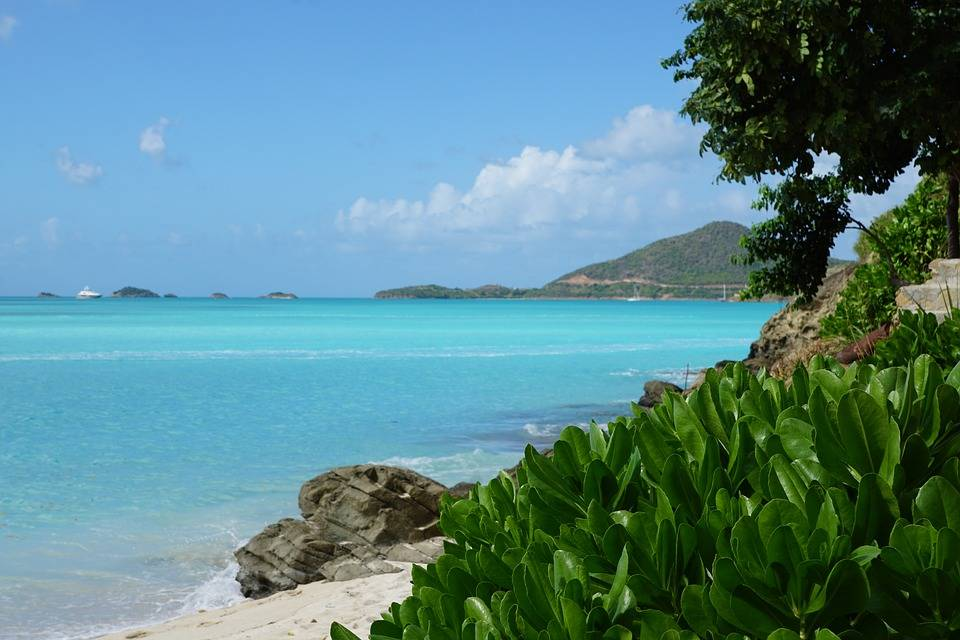 Antigua, rest and relax travel destination