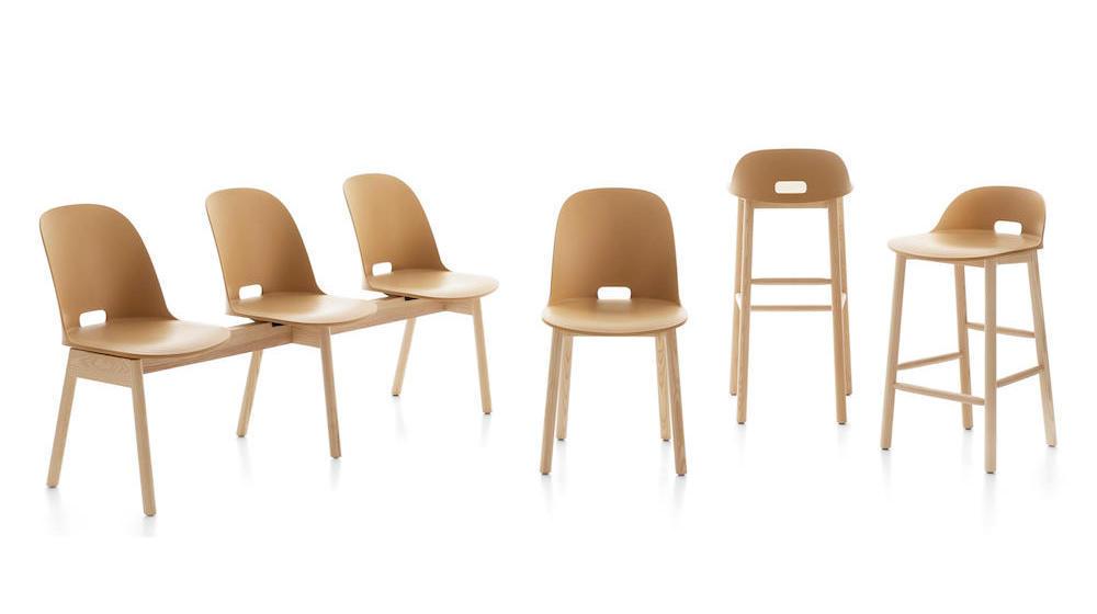 Emeo ALFI bench and chairs