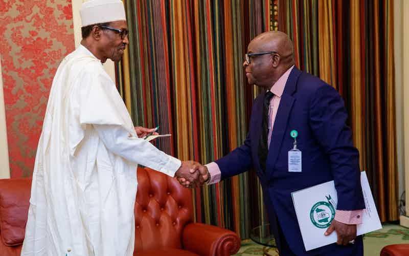 Buhari Accepts Onnoghen's Resignation
