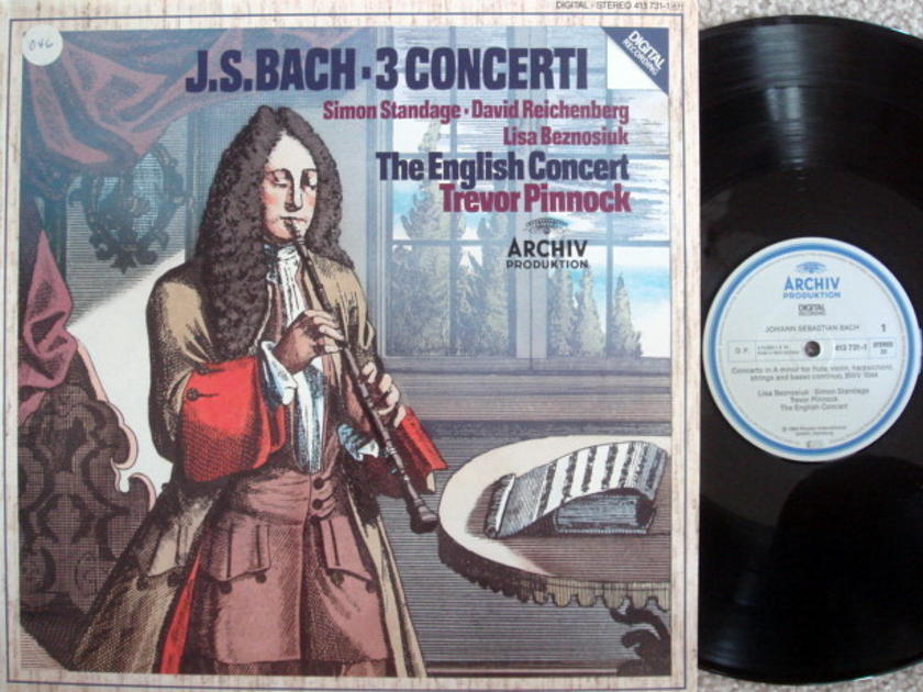 Archiv Digital / PINNOCK, - Bach 3 Concertos, NM!
