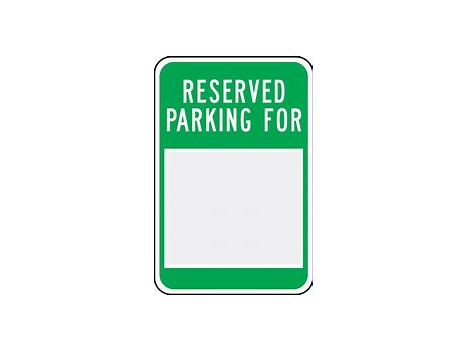 Reserved Zoo Parking Spot