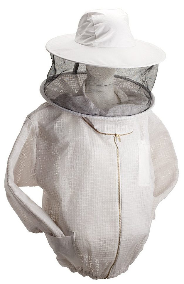 ventilated jacket with veil