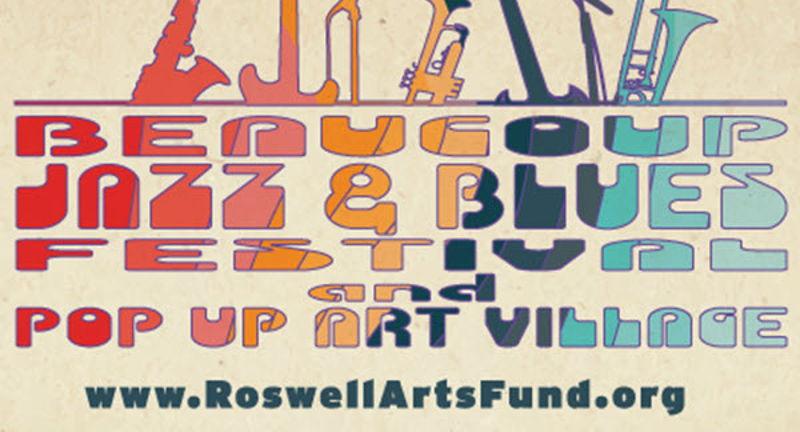Beaucoup Jazz + Blues Festival   Pop Up Art Village