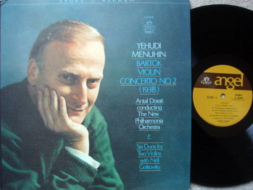 EMI Angel / MENUHIN, - Bartok Violin Conerto No.2,  NM!